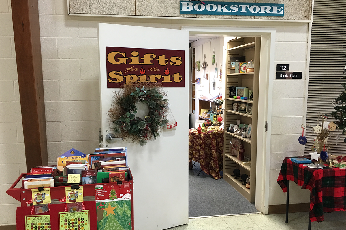 Front of Gift Shop - Book Store