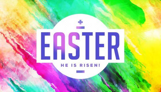 Easter Title Slide